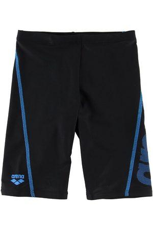 Arena Pojke Badshorts - Badbyxor - Logo Jr - /Pix Blue