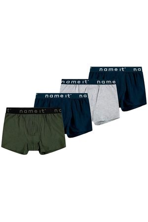 Name it Boxershorts - 4-pack - Noos - Forest Night