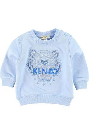 Kenzo Sweatshirt - Ljusblå m. Tiger