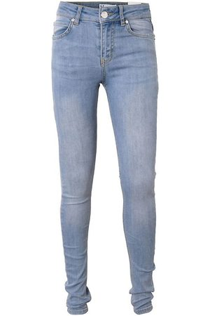 Hound Flicka Halsdukar - Jeans - Tubhalsduk - Medium Blue Used