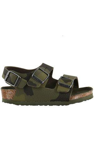 Birkenstock Sandaler - Sandaler - Milano - Desert Soil Camouflage Green