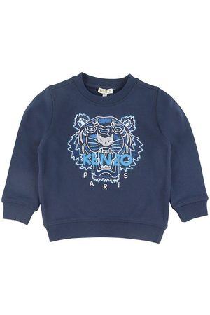 Kenzo Pojke Sweatshirts - Sweatshirt - Marinblå m. Tiger
