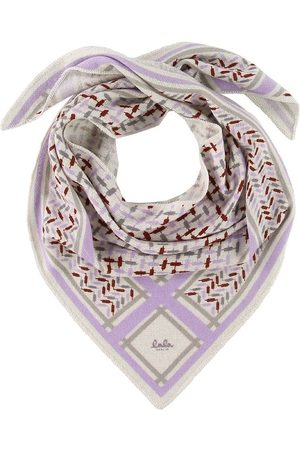 LALA BERLIN Flicka Halsdukar - Halsduk - 95x45 - Triangle Trinity Confetti S