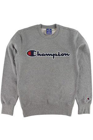 Champion Sweatshirts - Sweatshirt - Gråmelerad m. Logo