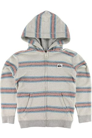 Quiksilver Pojke Sweatshirts - Cardigan - Sweat - Grårandig