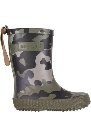 Bisgaard Pojke Gummistövlar - Gummistövlar - Militärgrön Camouflage
