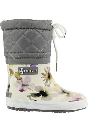 Aigle Flicka Gummistövlar - Termostövlar - Giboulee - Wildflower