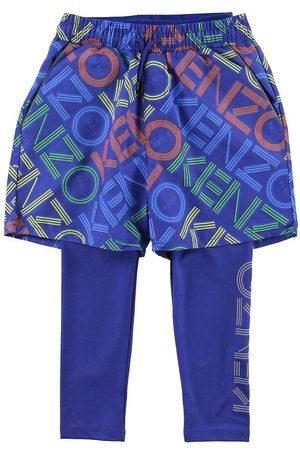Kenzo Pojke Shorts - Leggings/Shorts - Exclusive Edition - Vivid Blue m. Logo