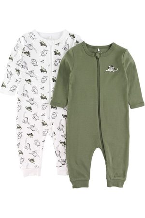 NAME IT Pyjamas - 2-pak - Noos - NbmNightsuit - Loden Green