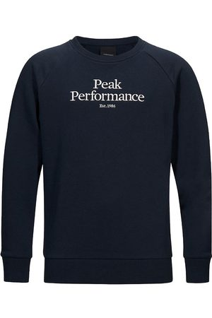 Peak Performance Sweatshirt - Original - Blue Shadow m. Logo