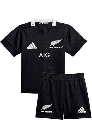 adidas Träningsoveraller - Träningsset - All Blacks