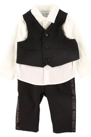 Emporio Armani Set - Skjorta/Väst/Byxor - /
