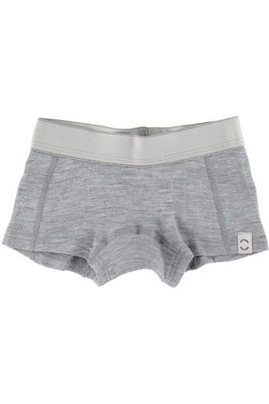 Mikk-Line Hipstertrosor - Ull - Pearl Grey Melange