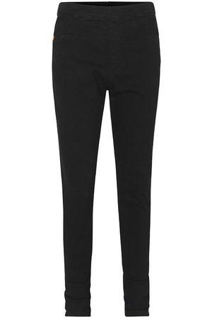 Mads Norgaard Flicka Stretchbyxor - Jeans - Super Stretch - Pinsa - Almost Black