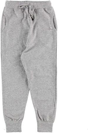 Say-So Joggingbyxor - Sweatpants - Gråmelerad
