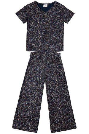 The New Jumpsuit - Tituanna - Navy Blazer m. Mönster