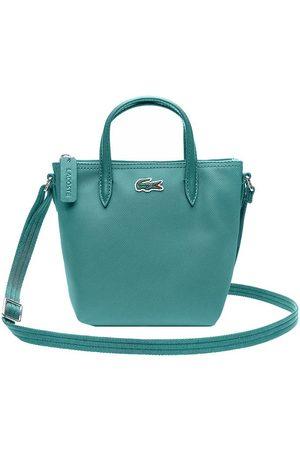 Lacoste Flicka Väskor - Väska - Shopping Cross Bag - Green Blue Slate