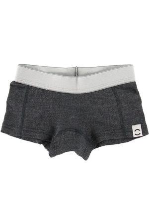 Mikk-Line Flicka Underkläder - Hipstertrosor - Ull - Anthracite Melange