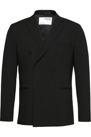 Selected Slhslim-Mazelogan Db Black Blazer B Blazer Kavaj