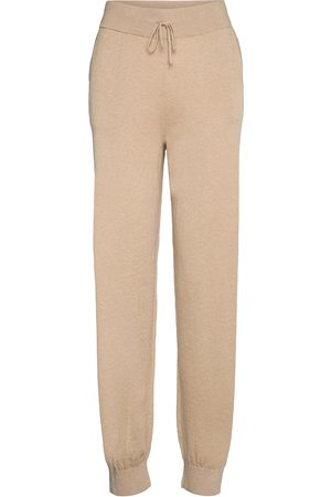 Lounge Nine Lnballou Knit Pants Casual Byxor Beige