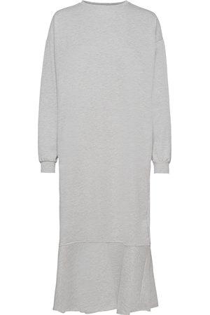 Object Objregita L/S Midi Jersey Dress A Ofw Knälång Klänning