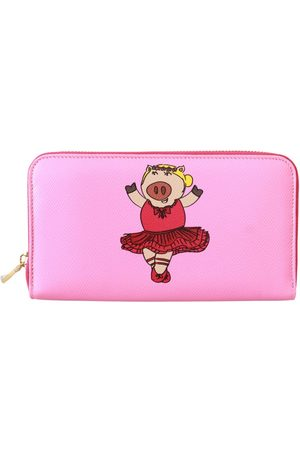 Dolce & Gabbana Year Of The Pig Continental Clutch Leather Wallet
