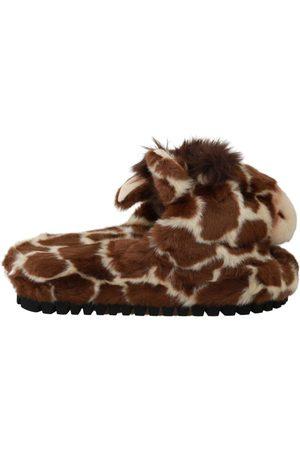Dolce & Gabbana Giraffe Slippers