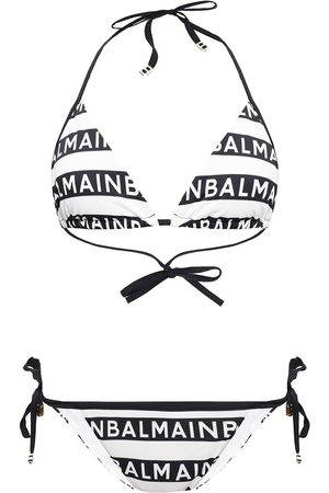 Balmain Two-piece swimsuit with logo