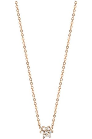 Ginette NY Diamond Mini Star Necklace