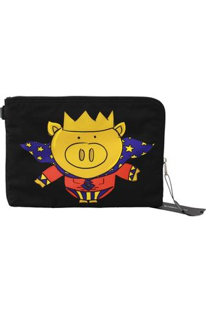 Dolce & Gabbana Super Pig Print Hand Toiletry Bag