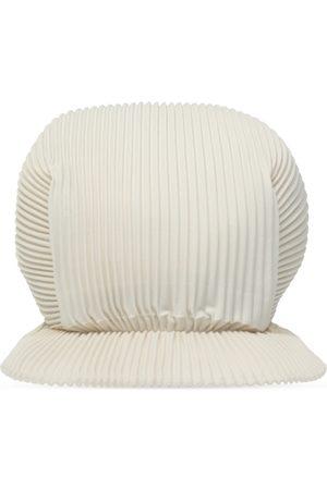 Issey Miyake Pleated baseball cap