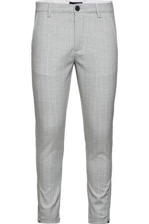 Gabba Pisa Peli Stripe Pant Kostymbyxor Formella Byxor Grå