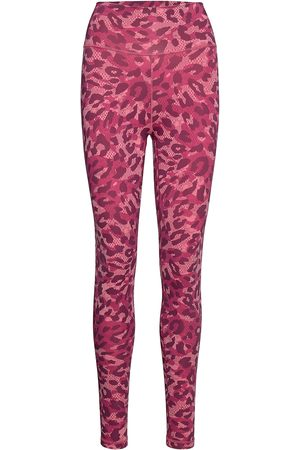 adidas Believe This Graphic Long Tights W Running/training Tights Rosa