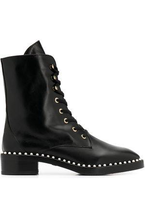 Stuart Weitzman Kvinna Boots - Stövlar med pärlkant