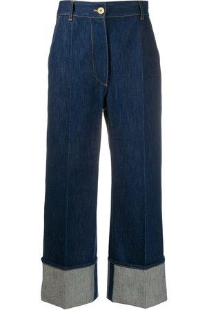 Patou Kvinna Bootcut - Jeans med hög midja