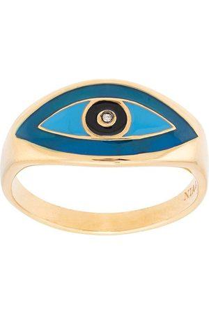 Nialaya Man Ringar - Ring med onda ögat