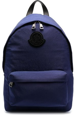 Moncler Man Ryggsäckar - Logo-patch zip-fastening backpack