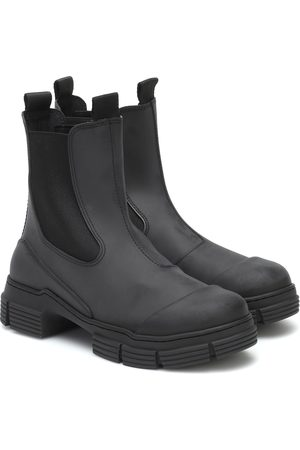 Ganni Kvinna Ankelboots - Rubber ankle boots