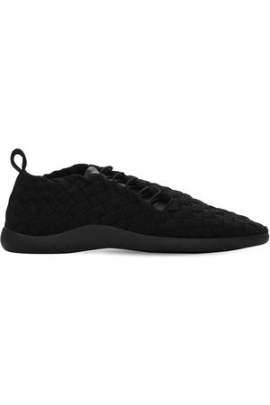 Bottega Veneta Intrecciato Tech Low Top Sneakers
