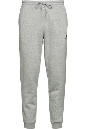 Converse Man Joggingbyxor - Embroidered Sc Pant Bb Black Sweatpants Mjukisbyxor Grå