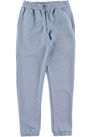 Grunt Flicka Joggingbyxor - Sweatpants - Lilian - Baby Blue