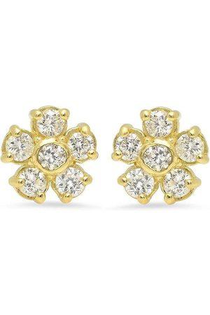 Jennifer Meyer Diamantörhängen i 18K gult
