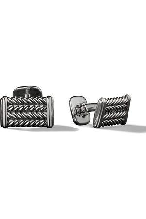 David Yurman Man Manschettknappar - Chevron cufflinks