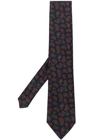 Etro Man Slipsar - Paisley-print silk tie