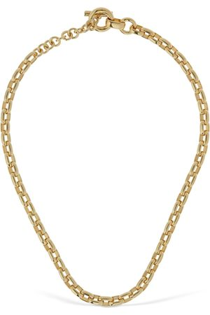 Bottega Veneta Chunky Chain Short Necklace