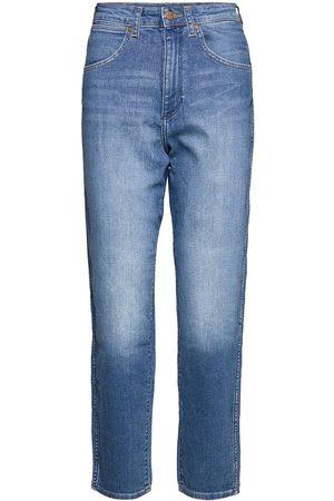 Wrangler Mom Jeans Jeans Mom Jeans Blå