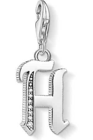 Thomas Sabo Halsband - Charm-hängsmycke bokstaven H silver