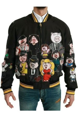 Dolce & Gabbana Year OF THE PIG Bomber Jacket