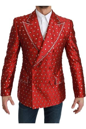 Dolce & Gabbana Silk Crystal Blazer