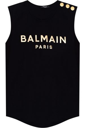 Balmain Logo-printed tank top